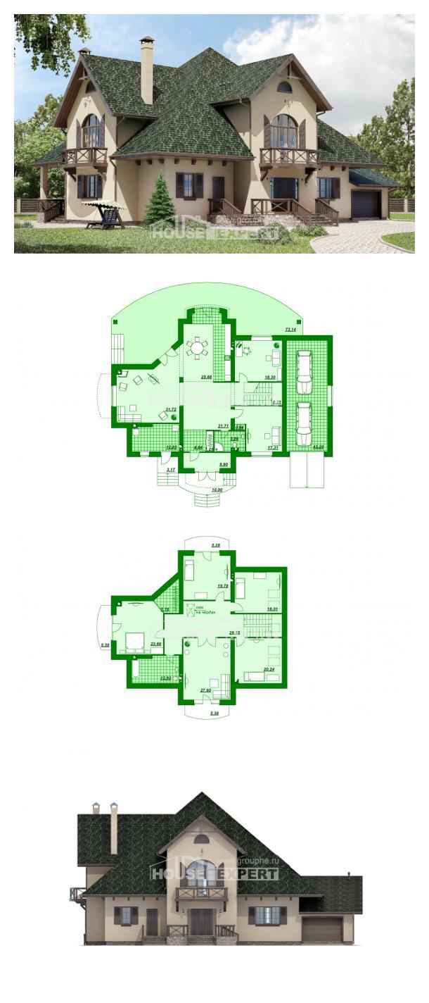 Проект дома 350-001-П | House Expert