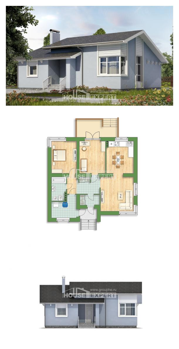 Projekt domu 110-003-L | House Expert
