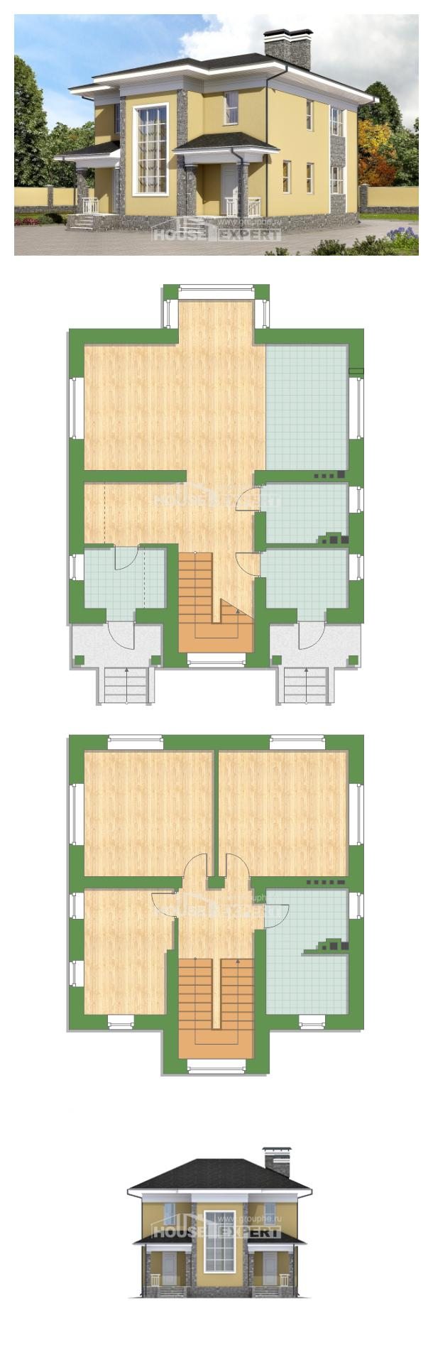 Projekt domu 155-011-L | House Expert