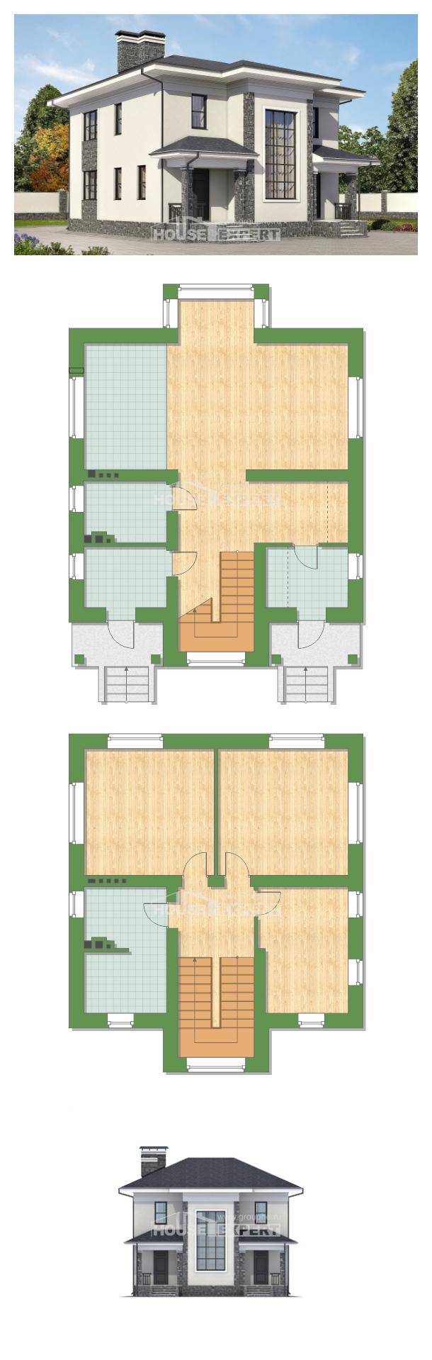 Proyecto de casa 155-011-R | House Expert