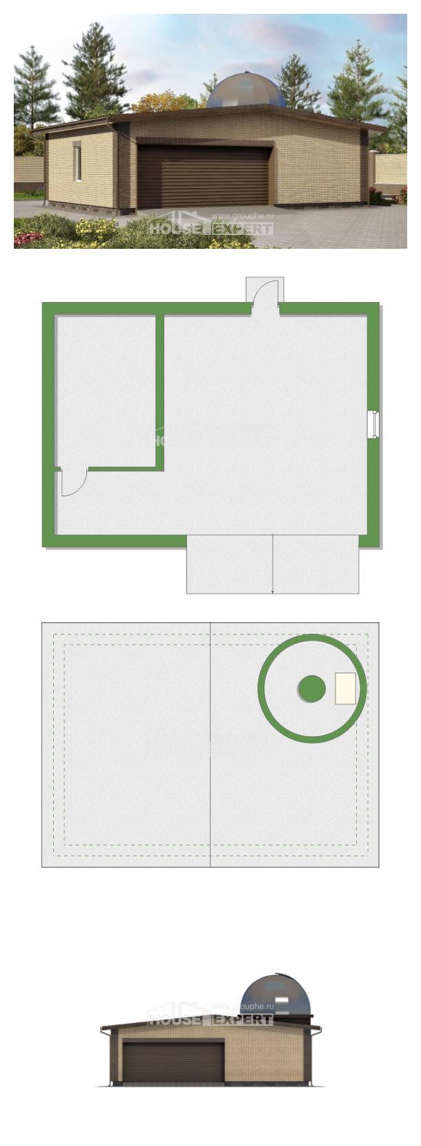 Projekt domu 075-001-L   House Expert