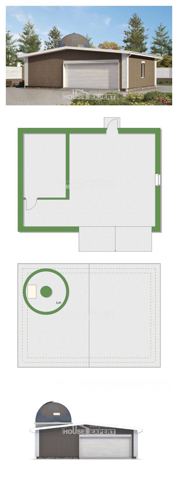 Projekt domu 075-001-R | House Expert