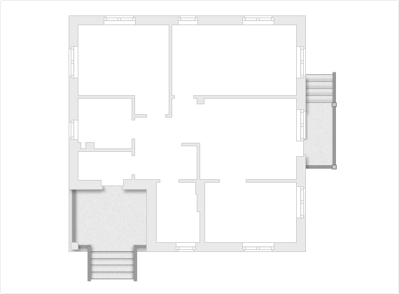 Планировка проекта одноэтажного дома 100 кв.м.
