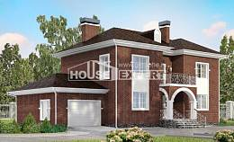 180-006-L Two Story House Plans with garage, best house Architects House