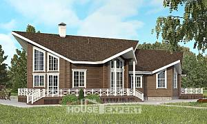 210-002-L Two Story House Plans with mansard roof, cozy Online Floor