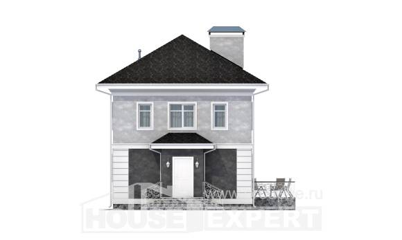 090-003-R Two Story House Plans, inexpensive Custom Home Plans Online