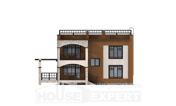 150-010-L Two Story House Plans, a simple Planning And Design