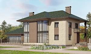 305-003-R Two Story House Plans, luxury Design House