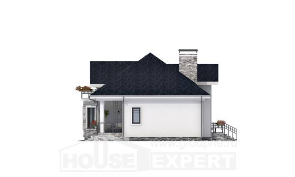 150-008-R Two Story House Plans and mansard, inexpensive Custom Home Plans Online