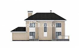 180-006-R Two Story House Plans and garage, best house Tiny House Plans