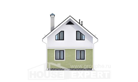 070-001-R Two Story House Plans and mansard, beautiful Blueprints