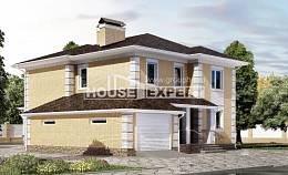 220-006-L Two Story House Plans with garage, spacious Models Plans