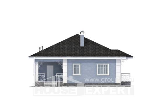 100-001-R One Story House Plans, beautiful Plan Online