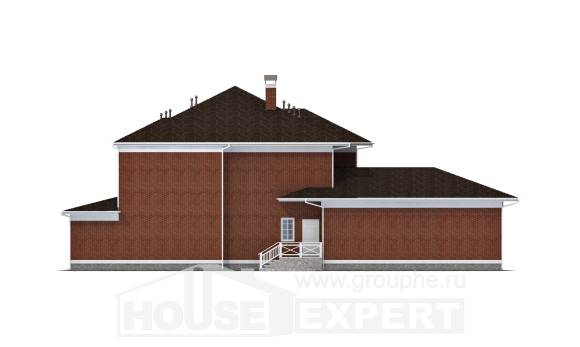 315-001-R Two Story House Plans with garage, beautiful Custom Home Plans Online