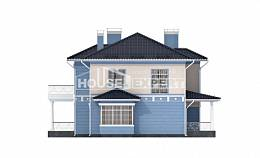 285-003-L Two Story House Plans with garage, a huge Plans Free
