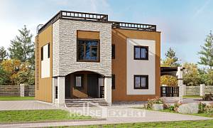 150-010-L Two Story House Plans, the budget Home Plans