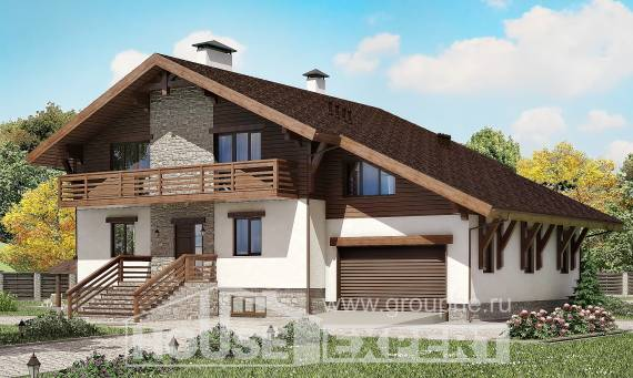420-001-R Three Story House Plans and mansard with garage under, best house House Plans