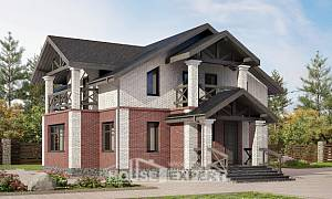 160-014-L Two Story House Plans, beautiful House Blueprints