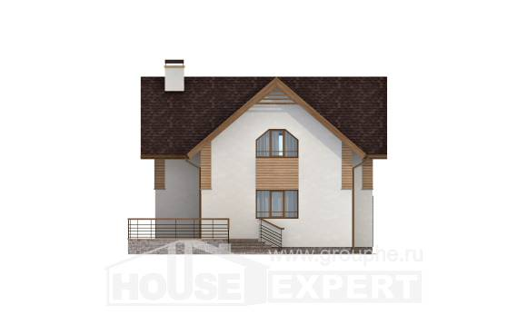 150-009-R  Two Story House Plans, modern House Plan