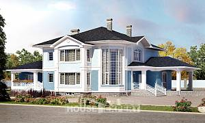 620-001-R Three Story House Plans with garage under, luxury Custom Home