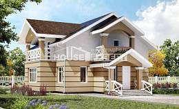 155-009-R Two Story House Plans and mansard, classic House Plans