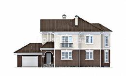 190-002-L Two Story House Plans with garage under, average Blueprints of House Plans