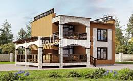 150-010-L Two Story House Plans, classic Online Floor