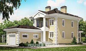 150-006-L Two Story House Plans with garage, economical House Plans