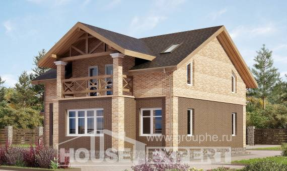 160-014-R Two Story House Plans, classic Home House