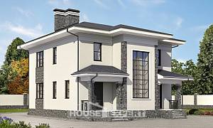 155-011-R Two Story House Plans, economical Home Plans