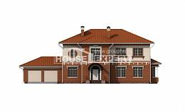 285-001-L Two Story House Plans and garage, best house Models Plans
