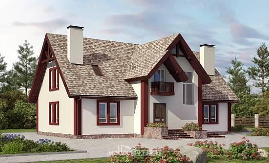 Готовые проекты коттеджей с мансардой и гаражом купить гараж на севере спб