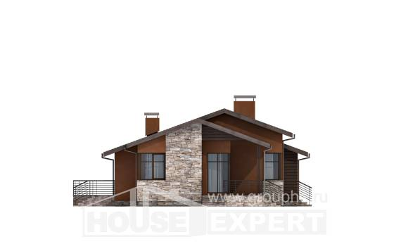 130-007-R One Story House Plans, modern House Building