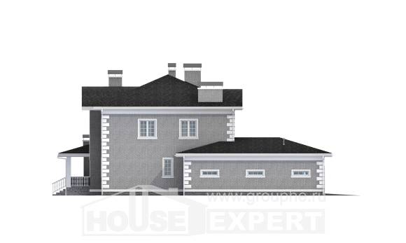 245-004-L Two Story House Plans with garage, best house House Plan