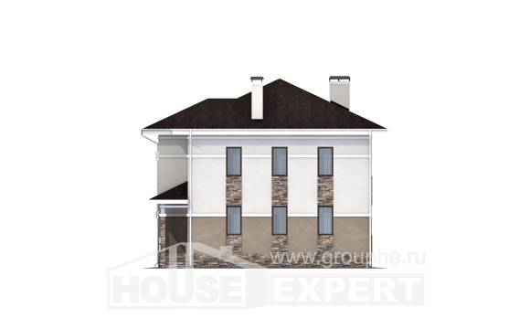 150-014-R Two Story House Plans, best house Custom Home