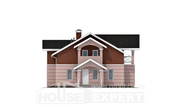 155-009-L Two Story House Plans and mansard, best house House Blueprints