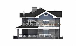 200-006-L Two Story House Plans, cozy Blueprints of House Plans