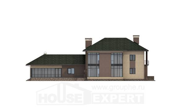 305-003-R Two Story House Plans, cozy Cottages Plans