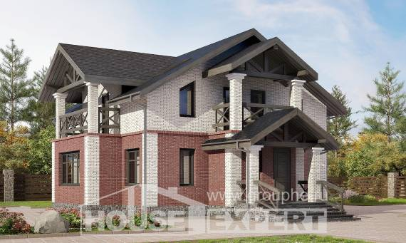 160-014-L Two Story House Plans, economical Tiny House Plans