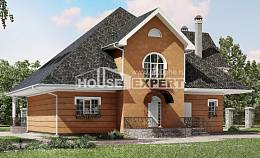 310-001-R Two Story House Plans and mansard, spacious Plans To Build