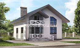 155-001-L Two Story House Plans and mansard and garage, best house House Planes