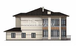 345-001-R Two Story House Plans, classic Dream Plan