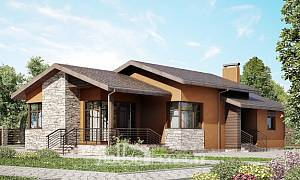 130-007-R One Story House Plans, beautiful Home House