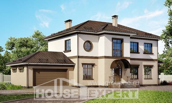 290-004-L Two Story House Plans with garage, best house Floor Plan