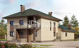 305-003-R Two Story House Plans, modern Cottages Plans