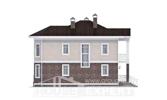 120-001-L Two Story House Plans, a simple Plans Free
