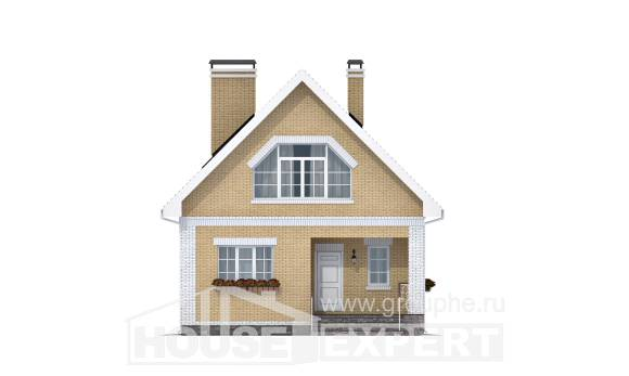 130-004-R Two Story House Plans and mansard, available Home Blueprints