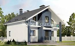 150-005-R Two Story House Plans and mansard, classic House Plans
