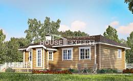 095-001-L One Story House Plans, compact Custom Home Plans Online