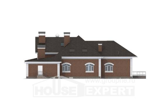 400-003-R Two Story House Plans and mansard, spacious Plans Free